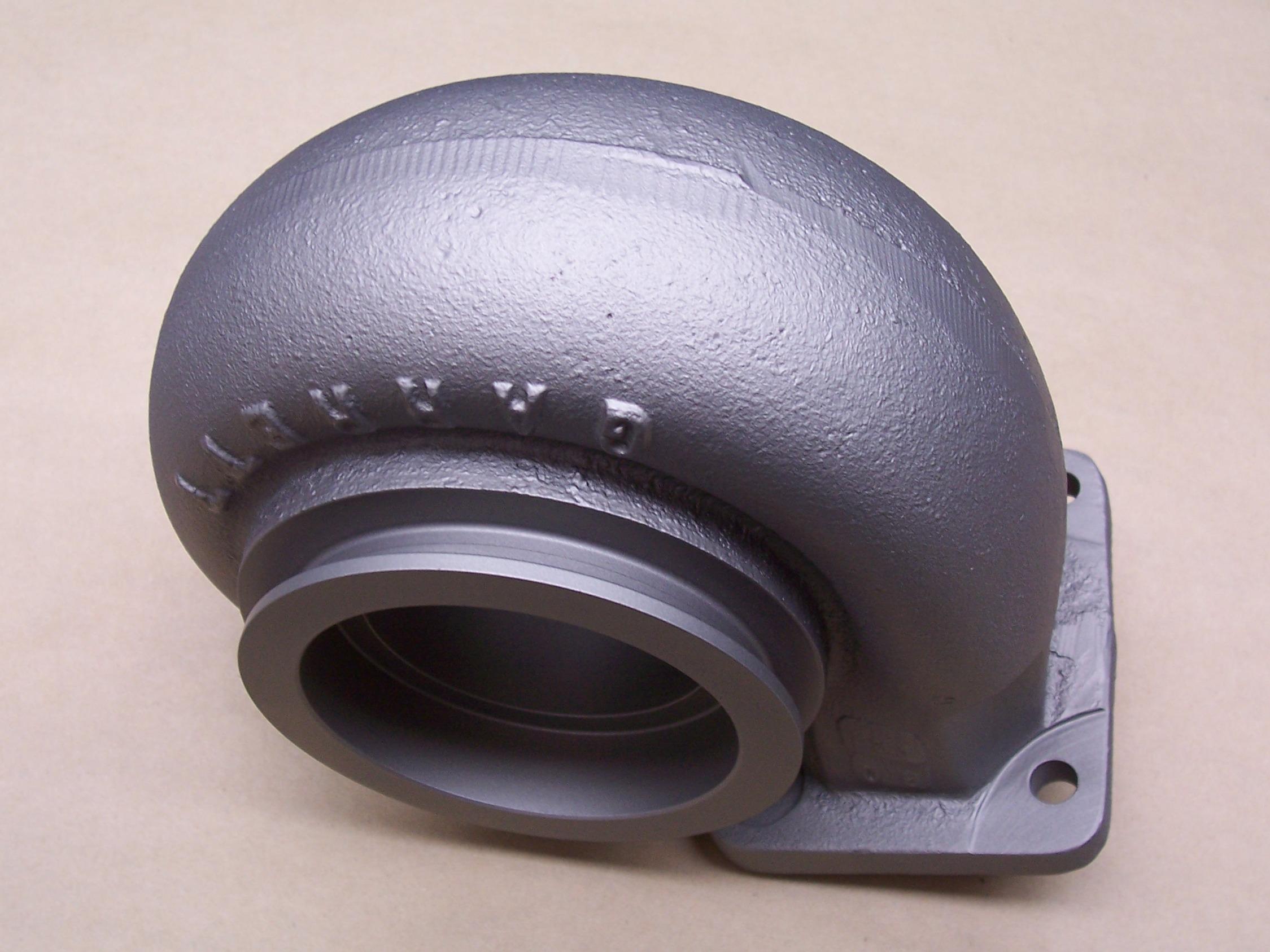 Titanium Color Ceramic Coating on Turbo