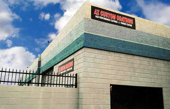AZ Custom Coatings Shop