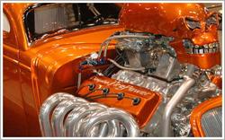 Ceramic Coated Engine