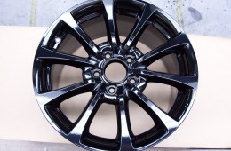 Powder Coating Rims – Gloss Black