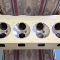 Masking V8 Heads Thermal Barrier Coating