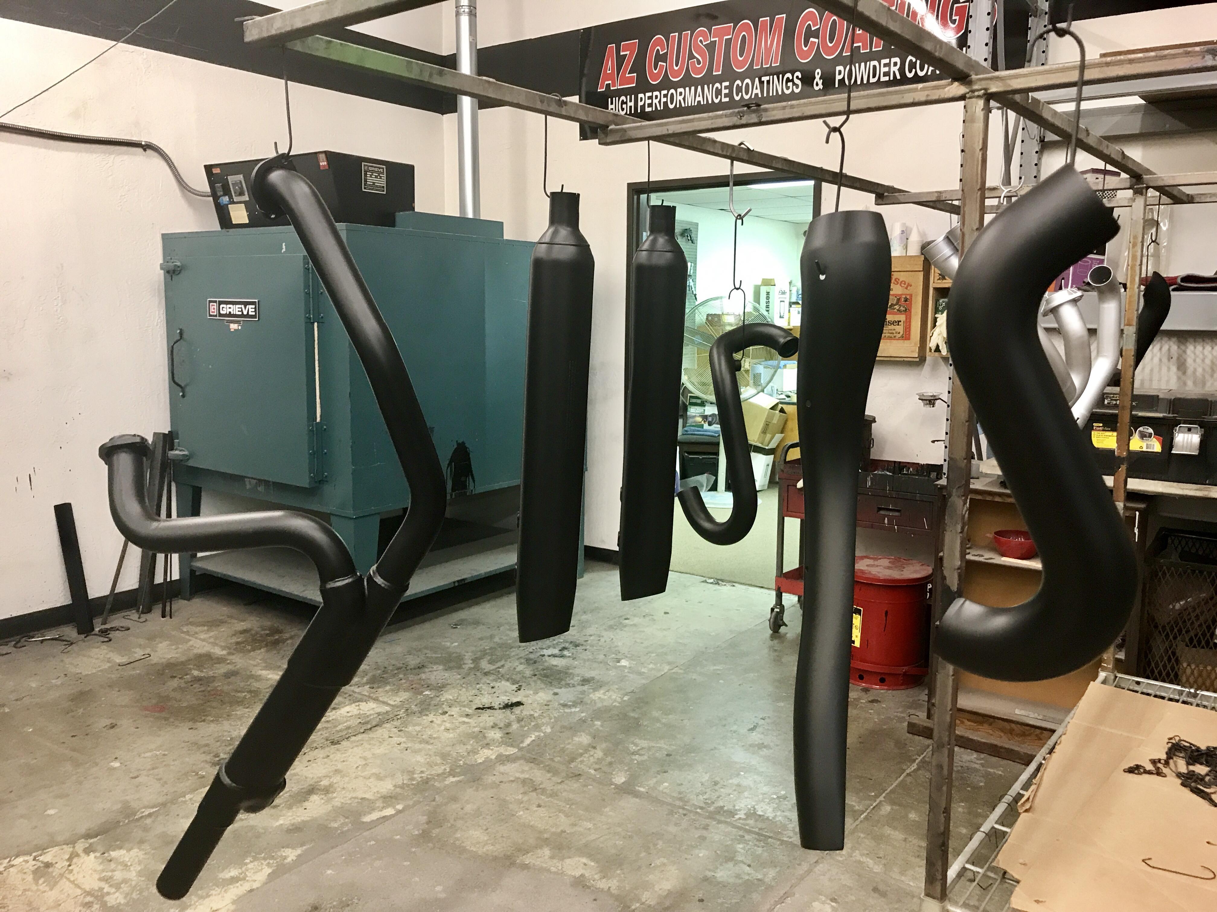 ceramic black moto pipes